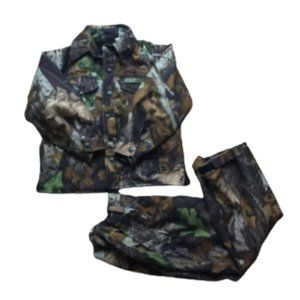 Camo jacket with pants for kids size M L